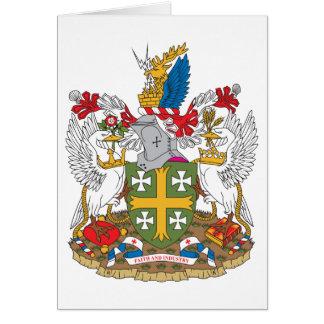 Abingdon Coat of Arms Card