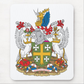 Abingdon Coat of Arms Mouse Pad