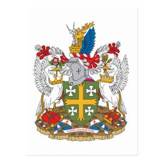 Abingdon Coat of Arms Postcard
