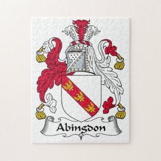 Abingdon Family Crest Jigsaw Puzzles