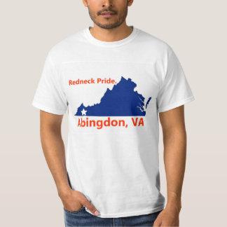 Abingdon, Virginia redneck pride t shirt