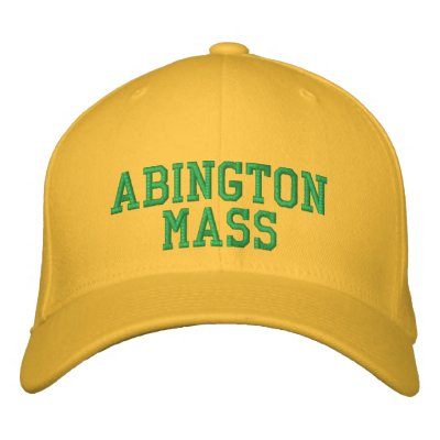 Abington Customized Embroidered Hats
