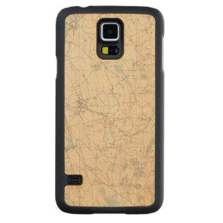 Abington, Massachusetts Carved Maple Galaxy S5 Case
