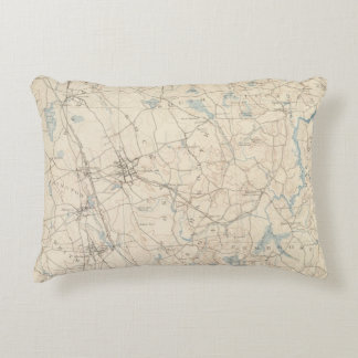Abington, Massachusetts Decorative Pillow