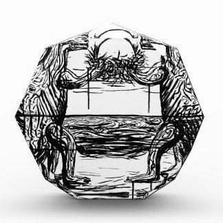 Abiogenic Memetics 1 - Custom Print! Acrylic Award