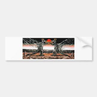 Abiogenic Memetics - Custom Print! Bumper Stickers