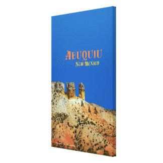Abiquiu, New Mexico Stretched Canvas Prints