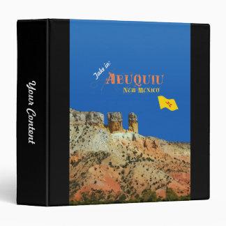 "Abiquiu, New México Carpeta 1 1/2"""