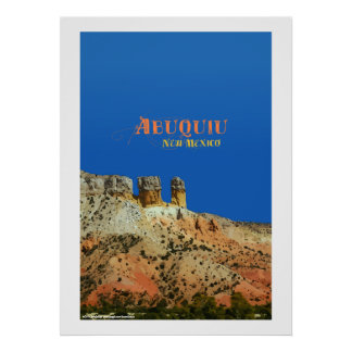 Abiquiu, New Mexico Posters