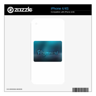 Abismal iPhone 4S Skins