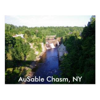 Abismo de AuSable, NY Postales