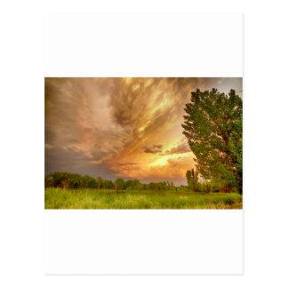 Abismo en el cielo tarjetas postales