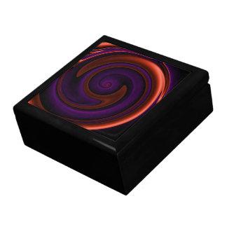 Abismo oscuro caja de recuerdo