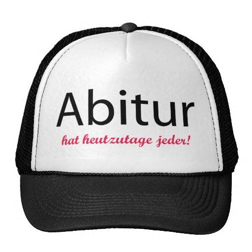 abitur hat heutzutage jeder!