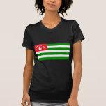 Abjasia señala por medio de una bandera camiseta