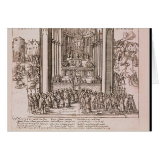 Abjuration of Henri IV Card