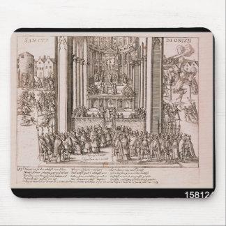 Abjuration of Henri IV Mouse Pad