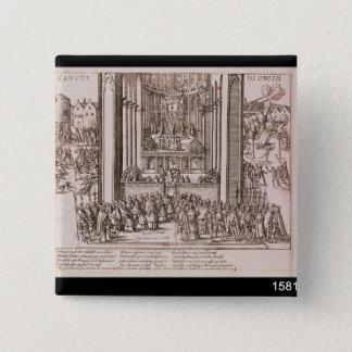 Abjuration of Henri IV Pinback Button