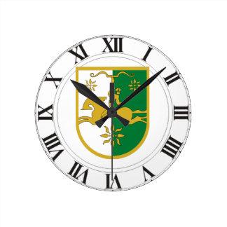 Abkhazia Coat of Arms Wall Clocks