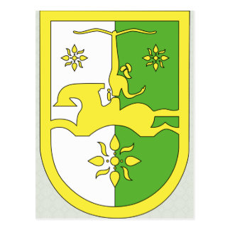 Abkhazia Coat of Arms detail Postcards