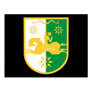abkhazia emblem post cards