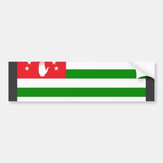 Abkhazia Flag Bumper Sticker