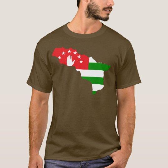 Abkhazia flag map T-Shirt