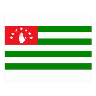 Abkhazia Flag Postcard