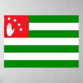 Abkhazia Flag Posters