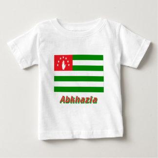 Abkhazia Flag with Name Baby T-Shirt
