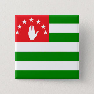 Abkhazia High quality Flag Pinback Button
