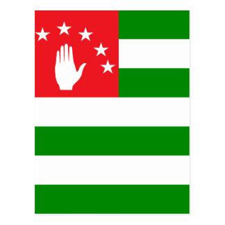 Abkhazia High quality Flag Postcards