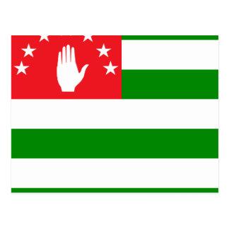 Abkhazia High quality Flag Post Card