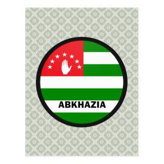 Abkhazia Roundel quality Flag Post Cards