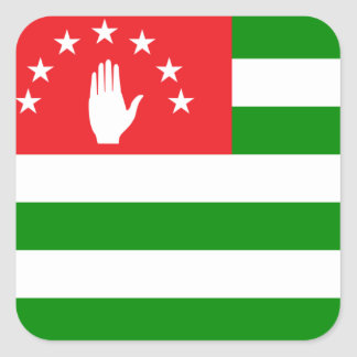abkhazia square sticker
