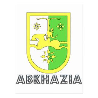 Abkhazian Emblem Post Card