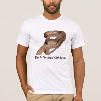 ABlack-Headed Cat Snake merican Apparel T T-Shirt