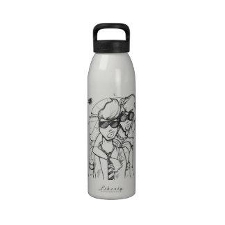 Able Abe Studios LIBERTY BOTTLE Reusable Water Bottle