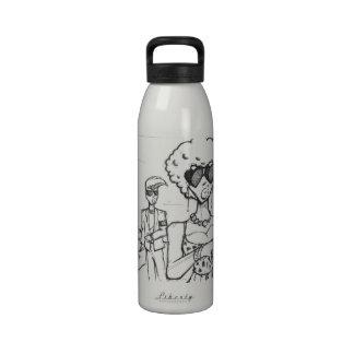 Able Abe Studios LIBERTY BOTTLE Reusable Water Bottles