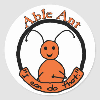 Able Ant Stickers