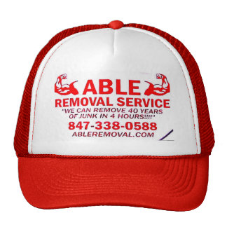 ABLE REMOVAL HAT
