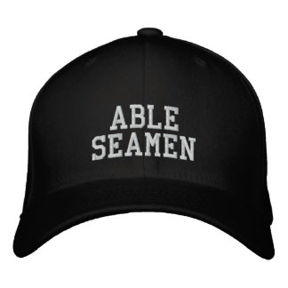 Able Seamen Embroidered Baseball Hat