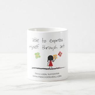 Able To Express Myself Through Art Mug