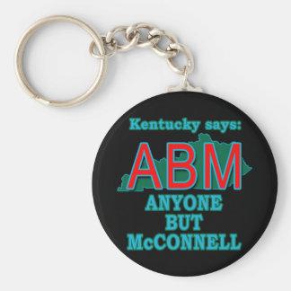 ABM: Cualquier persona pero McConnell para Kentuck Llavero Personalizado