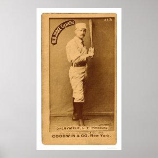 Abner Dalrymple Baseball 1887 Print