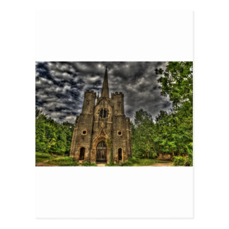 Abney Park Chapel Postcard