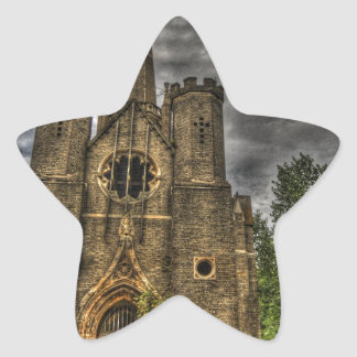 Abney Park Chapel Star Sticker