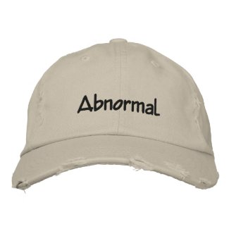 Abnormal Embroidered Cap Embroidered Hat