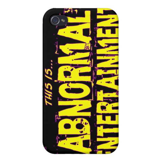 Abnormal Entertainment Cases For iPhone 4