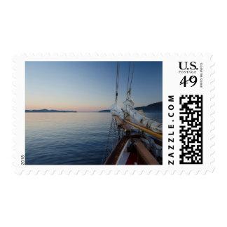 Aboard SV Maple Leaf Stamp